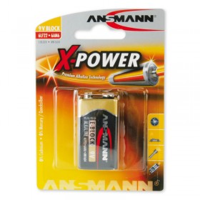 Ansmann X-Power 9V Alkaline E-Block Battery