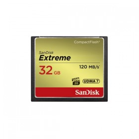 Sandisk Compact Flash Extreme 32GB 120MB/s (800x)