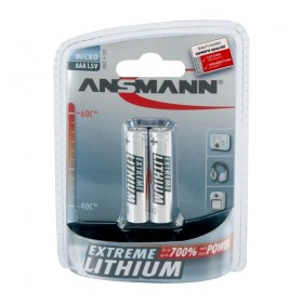 Ansmann Extreme Lithium Battery AAA 2 pack
