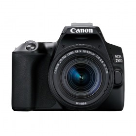 Canon EOS 250D DSLR Camera (Black) & EF-S 18-55mm f/4-5.6 IS STM Lens