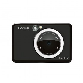 Canon Zoemini S Instant Camera Printer (Matte Black)