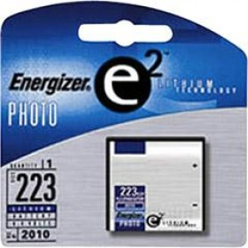 Energizer Battery Lithium 223 CRP2