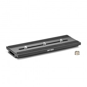 Gitzo Quick Release Plate Long D Profile with Rubber Grip