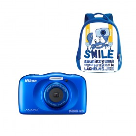 Nikon Coolpix W150 Waterproof Camera Backpack Kit (Blue)