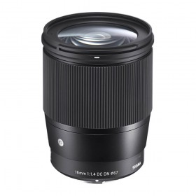 Sigma 16mm f/1.4 DC DN Contemporary Lens - for Micro Four Thirds Mount