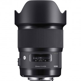 Sigma 20mm f/1.4 DG HSM Art Lens - for Canon EF Mount