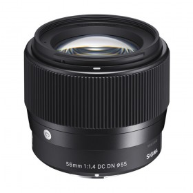 """Sigma 56mm f/1.4 DC DN """"C"""" Lens for Sony E"""