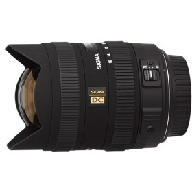 Sigma DC 8-16mm f/4.5-5.6 HSM Lens - for Canon EF-S Mount