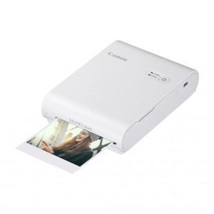 Canon Selphy Square QX10 Photo Printer - White