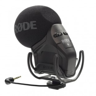 Rode Stereo VideoMic Pro with Rycote Lyre Mount