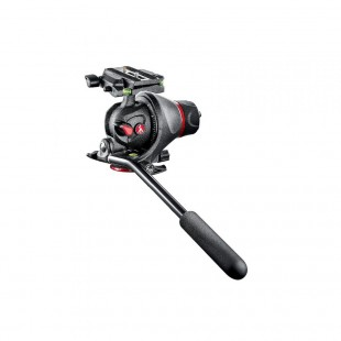Manfrotto Photo-Movie Tripod Head with Quick Release Plate