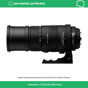 Pre-Owned Sigma 150-500mm F5-6.3 DG OS HSM - for Nikon F