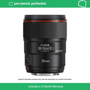 Pre-Owned Canon EF 35mm f/1.4L II USM