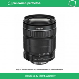 Pre-Owned Canon EF-S 18-135mm f/3.5-5.6 IS STM