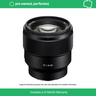 Pre-Owned Sony FE 85mm F1.8
