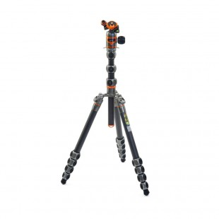 3 Legged Thing Legends Bucky Tripod Kit and AirHed Vu - Grey