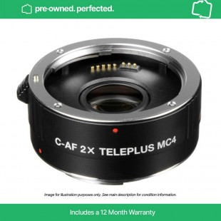 Pre-Owned Kenko C-AF 2x Teleplus MC4 Teleconverter for Canon EF
