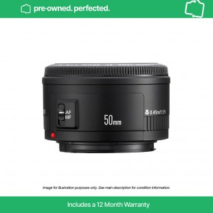 Pre-Owned Canon EF 50mm f/1.8 II