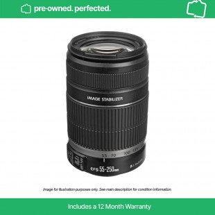 Pre-Owned Canon EF-S 55-250mm f/4-5.6 IS II