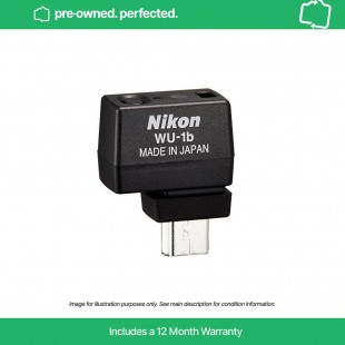 Pre-owned Nikon WU-1b Wi-Fi Adapter for D600, D610 and Nikon 1 models