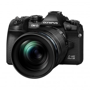Olympus OM-D E-M1 Mark III & 12-100mm f/4 PRO Lens - Black