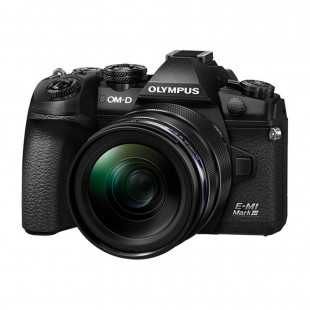 Olympus OM-D E-M1 Mark III & 12-40mm f/2.8 PRO Lens - Black