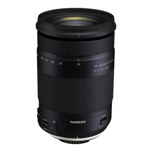 Tamron 18-400mm f/3.5-6.3 Di II VC HLD Lens - for Nikon Mount
