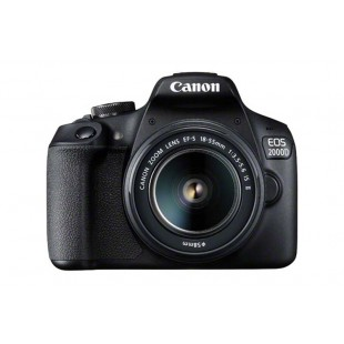 Canon EOS 2000D Body & EF-S 18-55mm IS II Front