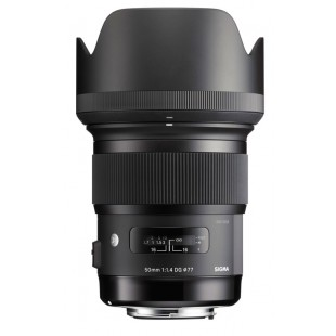 "Sigma DG 50mm f/1.4 HSM ""Art"" Series Lens - for Canon EF Mount"