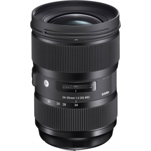 Sigma DG 24-35mm f/2 HSM Art Lens - for Canon EF Mount