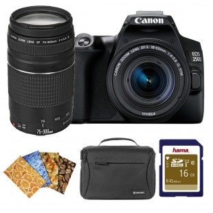 Canon EOS 250D DSLR Camera & EF-S 18-55mm f/4-5.6 IS STM Twin Kit