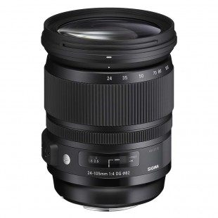 "Sigma 24-105mm f/4 OS HSM ""Art"" Series Lens - for Canon EF Mount"