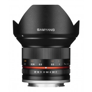 Samyang 12mm f/2 NCS CS Lens - for Micro Four Thirds