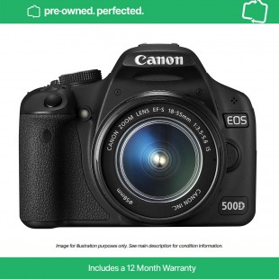 Pre-Owned Canon EOS 500D & EF-S 18-55mm IS