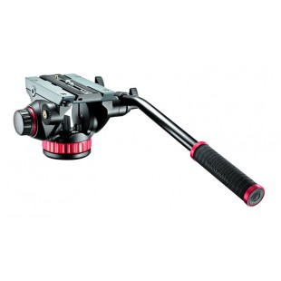 Manfrotto MVH502AH Pro Video Head Flat Base-Msize