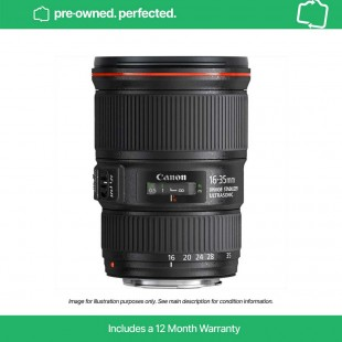 Pre-Owned Canon EF 16-35mm f/4L IS USM
