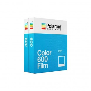 Polaroid 600 Colour Instant Film - Twin Pack
