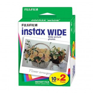 Fujifilm Instax Wide Format Colour Film - Twin Pack