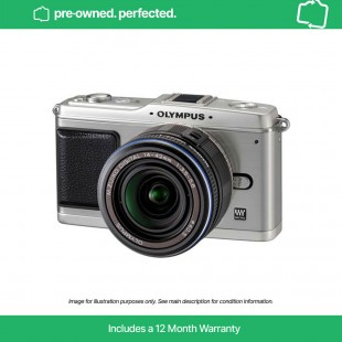 Pre-owned Olympus PEN E-P1 Silver & 14-42mm F3.5-5.6