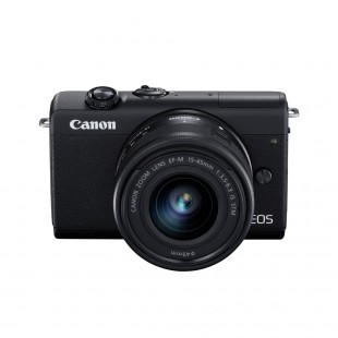Canon EOS M200 & 15-45mm Lens - Black