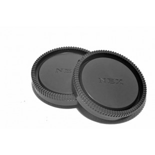 Kood Sony E Mount Body & Rear Lens Cap Set