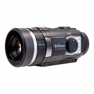 SiOnyx Aurora Black Colour Action/IR Night Vision Camera with Accessories