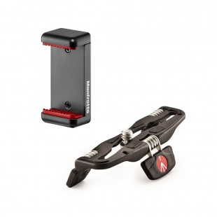 Manfrotto MCLAMP & Pocket Support Desktop Stand - Black