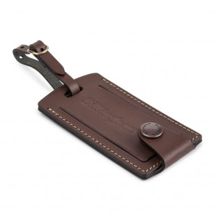 Billingham Luggage Tally (Chocolate Leather)