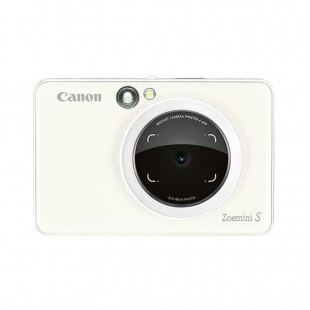 Canon Zoemini S Instant Camera Printer (Pearl White)