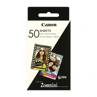 Canon Zoemini Zink Paper 50 Sheets Pack