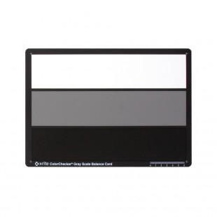 X-Rite ColorChecker Grey Scale Balance Card