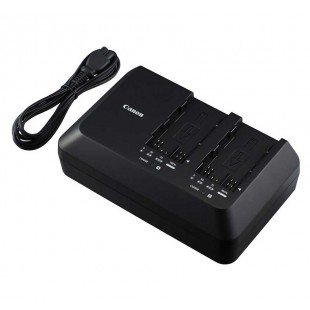 Canon Pro Video Dual Battery Charger for C300 Mark II Batteries