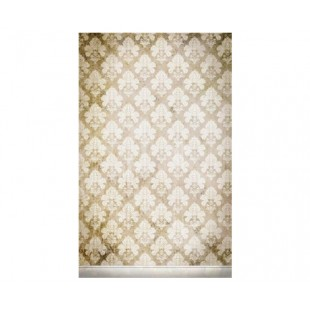 Click Props 5ft X 8ft Medium Background - Damask Distressed White