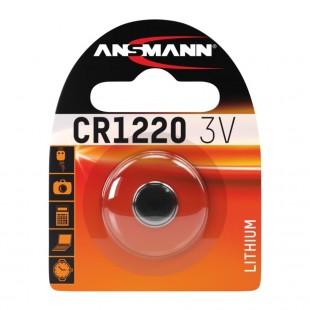 Ansmann Lithium button cell CR1220